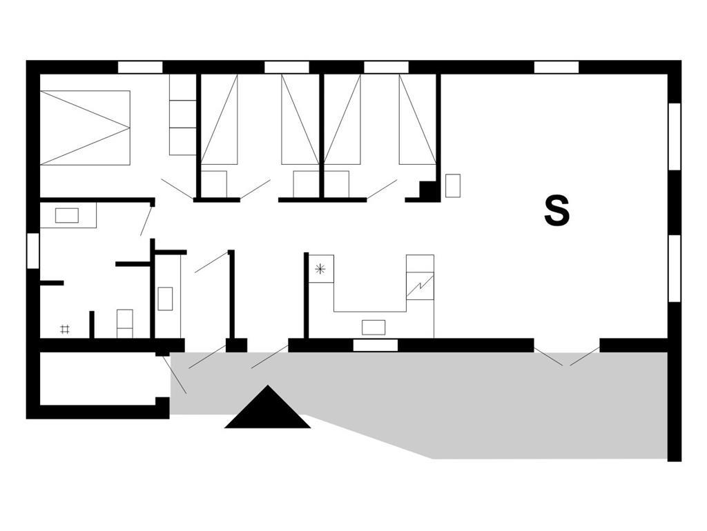 Indretning 1-175 Sommerhus 10393, Vester Mosevej 80, DK - 6990 Ulfborg