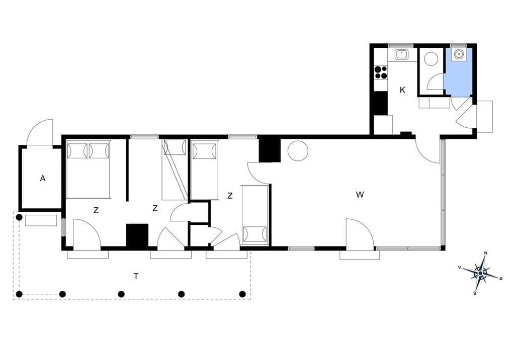 Innenausstattung 1-1336 Ferienhaus 800-N, Slettevej 39, DK - 3210 Vejby