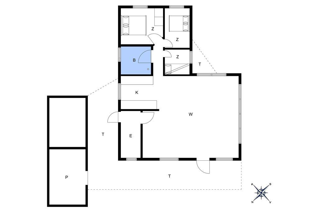 Interieur 1-401 Vakantiehuis OH361, Glentevej 11, DK - 9280 Storvorde