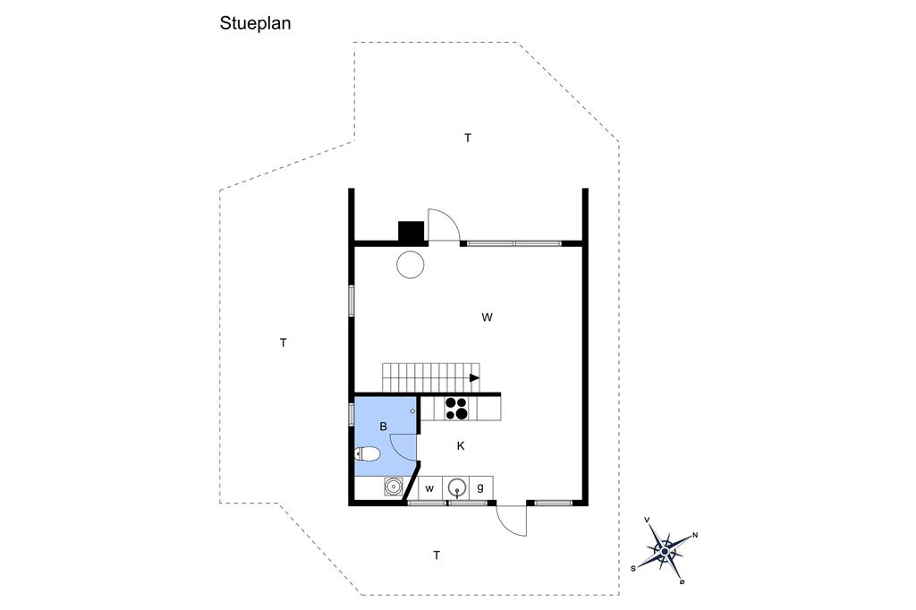 Indretning 1-22 Sommerhus C11228, Grævlingevej 19, DK - 6893 Hemmet