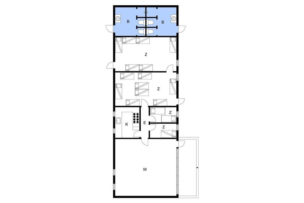 Innenausstattung 1-3 Ferienhaus L10357, Trankær Hole 8, DK - 7760 Hurup Thy