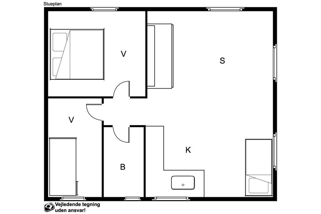 Interior 1-19 Holiday-home 30813, Tunø Hovedgade 35, DK - 8300 Odder