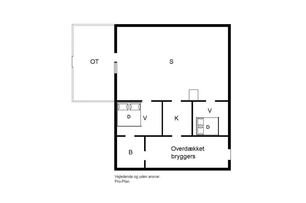 Indretning 1-19 Sommerhus 30391, Strandmarksvej 2, DK - 8300 Odder