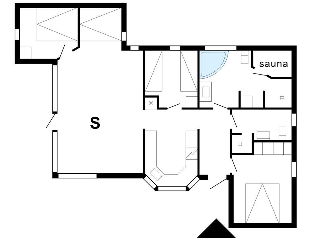Indretning 1-175 Sommerhus 40870, Helmklit 224, DK - 6990 Ulfborg