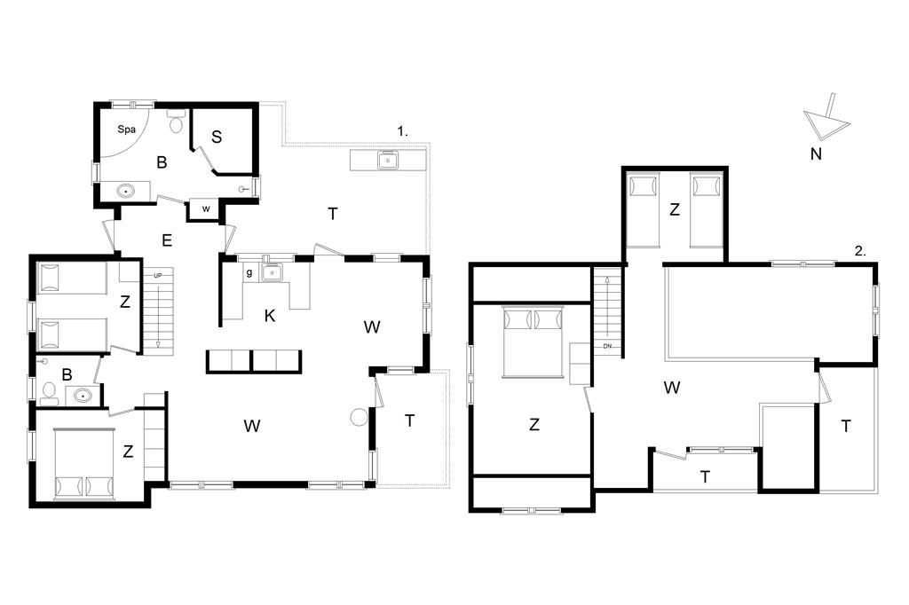 Interieur 1-13 Vakantiehuis 369, Muslingevej 7, DK - 7700 Thisted