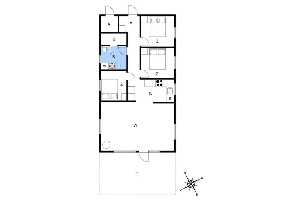 Innenausstattung 1-22 Ferienhaus C11156, Ranunkelvænget 12, DK - 6893 Hemmet
