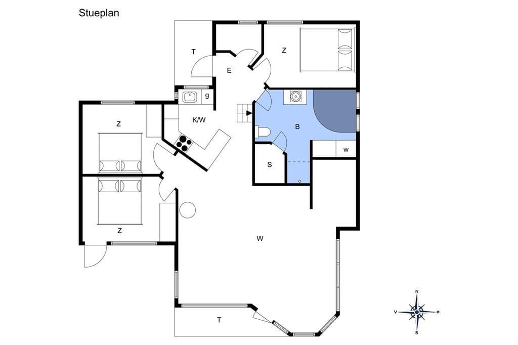 Interieur 1-26 Vakantiehuis SL277, Dybkærvej 31, DK - 4200 Slagelse