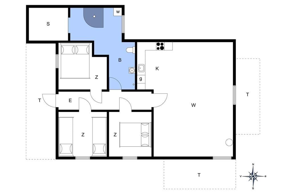 Interior 1-401 Holiday-home OH291, Møllevænget 16, DK - 9560 Hadsund