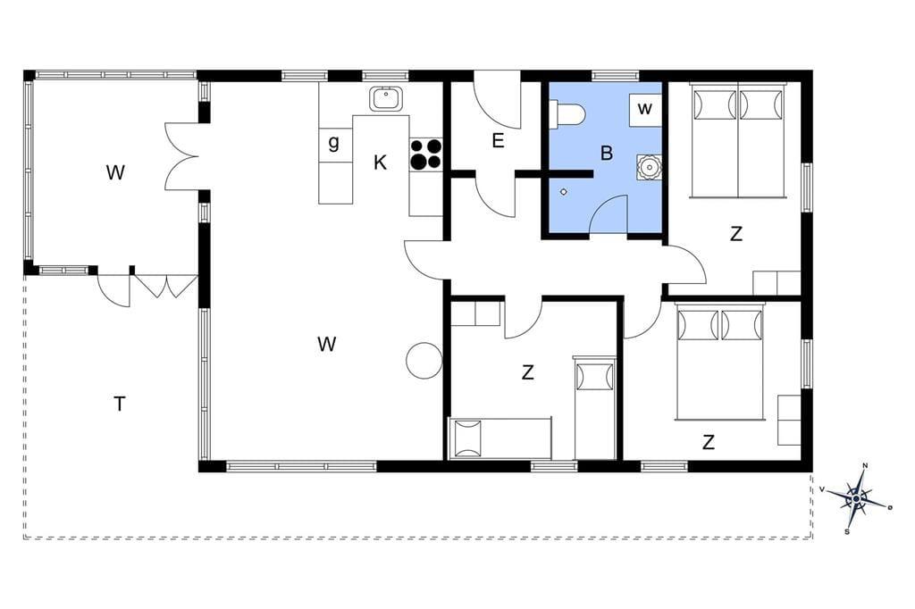 Interieur 1-148 Vakantiehuis TV1135, Ferievej 5, DK - 9881 Bindslev