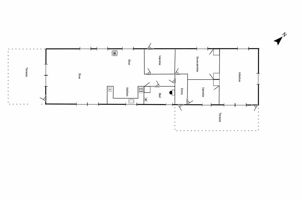 Interieur 1-125 Vakantiehuis 2106, Gøgevej 31, DK - 6854 Henne