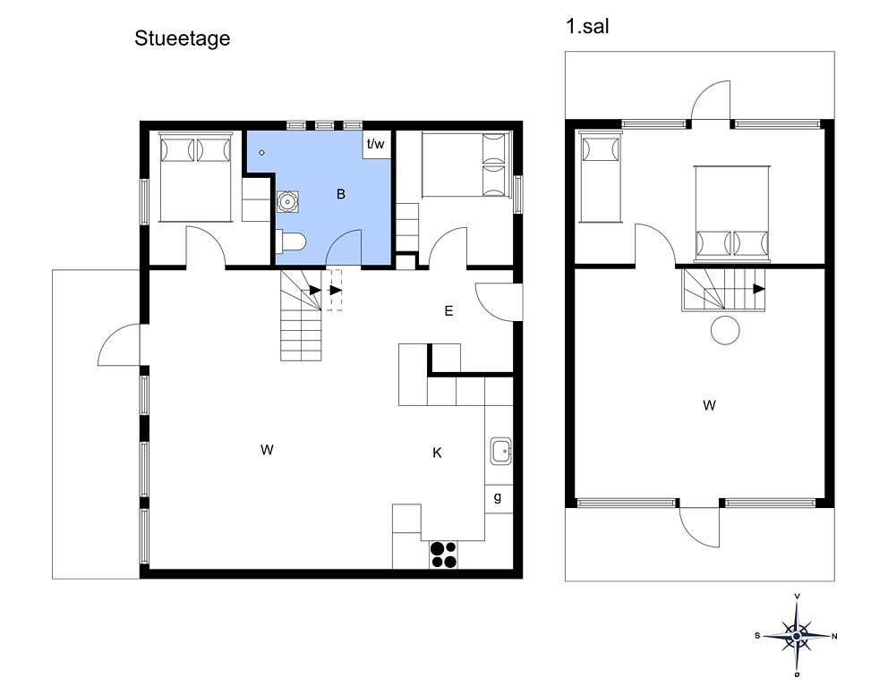 Innenausstattung 1-3 Ferienhaus M66420, Ridderstjernen 10, DK - 5390 Martofte