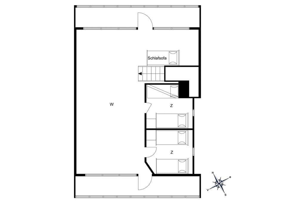 Indretning 1-19 Sommerhus 30565, Dyngby Havvej 3, DK - 8300 Odder