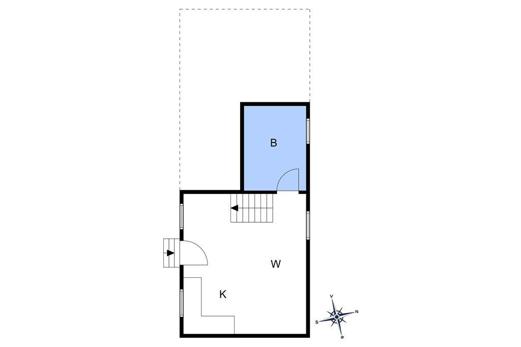 Indretning 1-10 Sommerhus 5603, Svanekevej 69, DK - 3740 Svaneke
