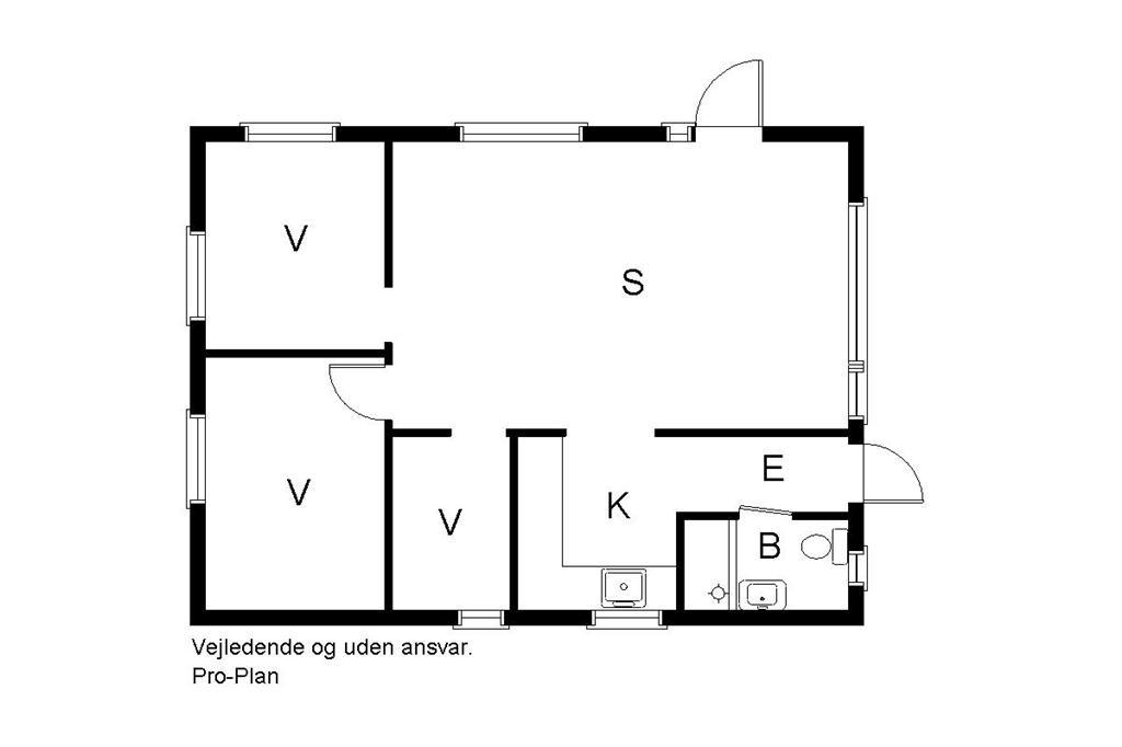 Innenausstattung 1-19 Ferienhaus 30343, Rythiavang 33, DK - 8300 Odder