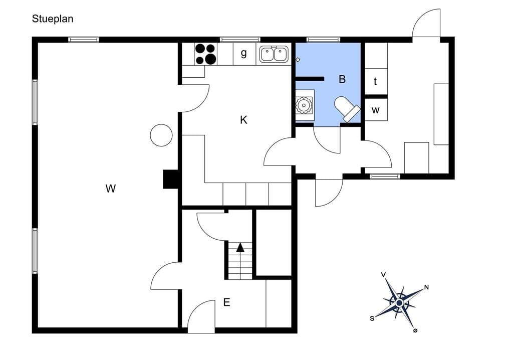 Indretning 1-15 Sommerhus 4003, Amandastræde 12, DK - 4791 Borre