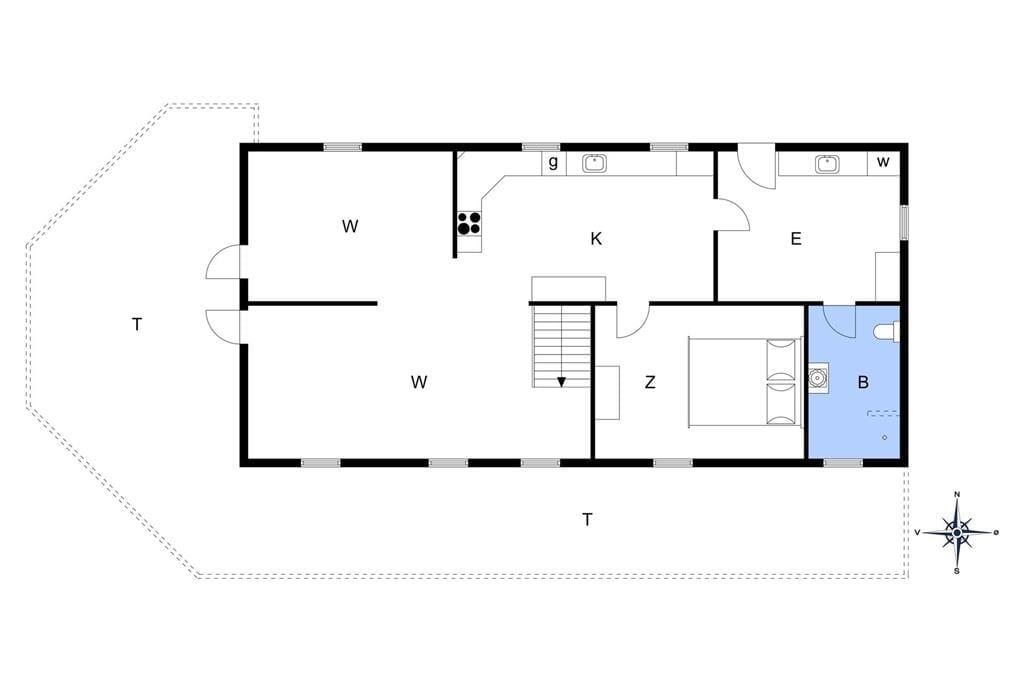 Innenausstattung 1-13 Ferienhaus 492, Tunvej 7, DK - 7700 Thisted
