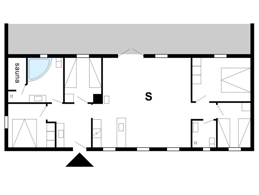 Indretning 1-175 Sommerhus 10809, Vester Mosevej 72, DK - 6990 Ulfborg