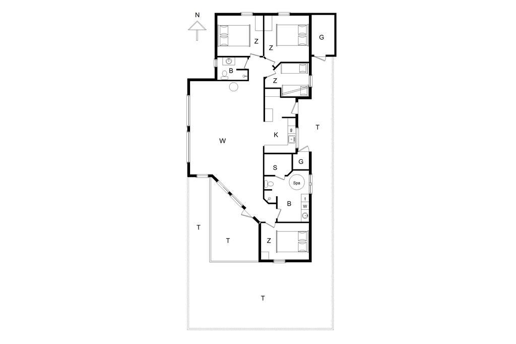 Interior 15-176 Holiday-home BL423, Rødhusparken 48, DK - 9490 Pandrup