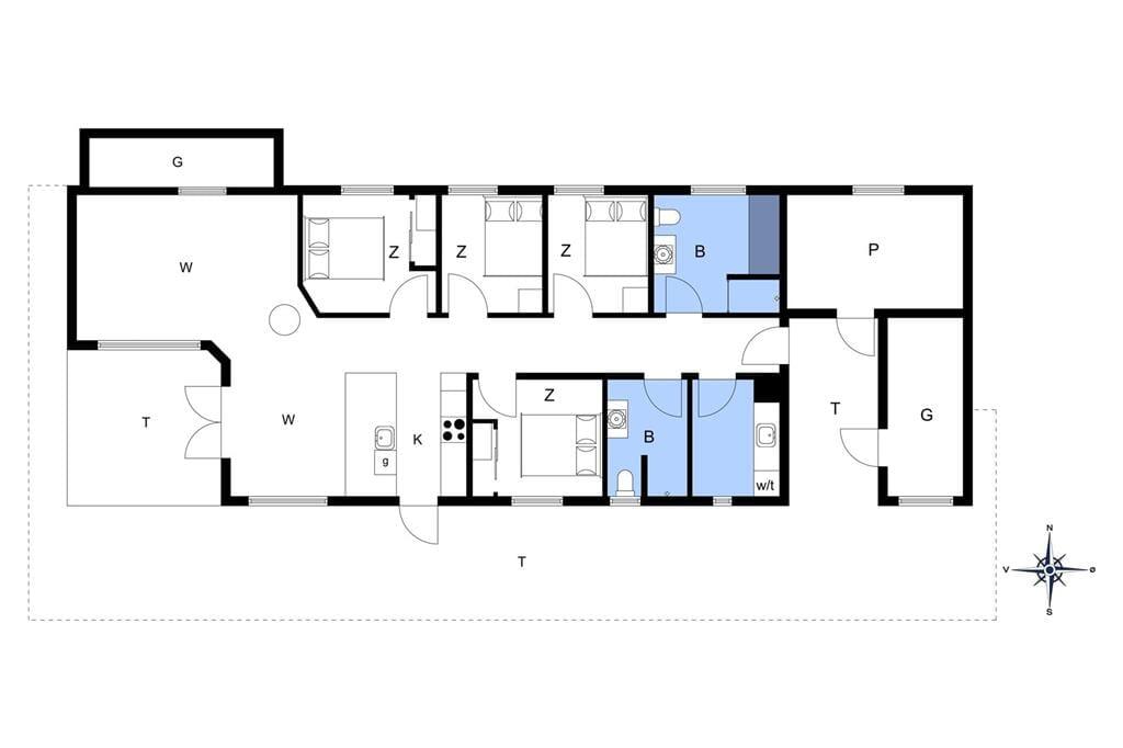 Innenausstattung 29-176 Ferienhaus BL1110, Bloksbjerg 7, DK - 9492 Blokhus
