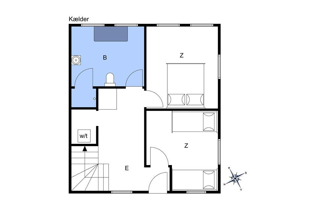 Indretning 1-10 Sommerhus 6770, Bredgade 8, DK - 3770 Allinge