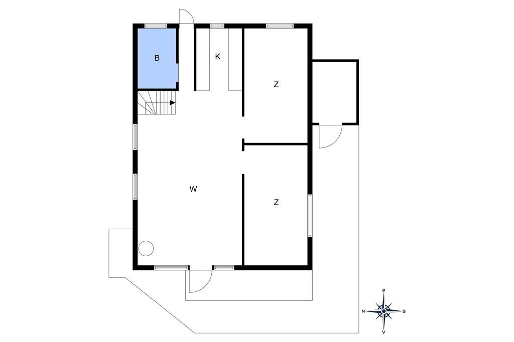 Indretning 1-10 Sommerhus 3605, Skelvej 3, DK - 3730 Nexø