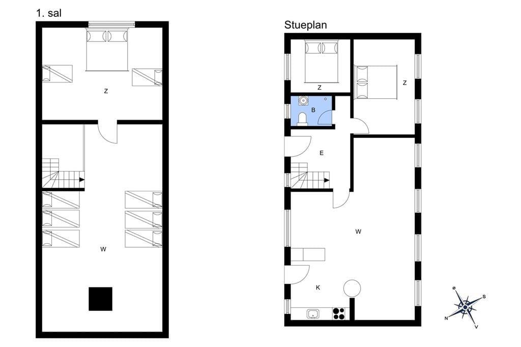Interior 1-6 Holiday-home N254, Enø Kystvej 209, DK - 4736 Karrebæksminde