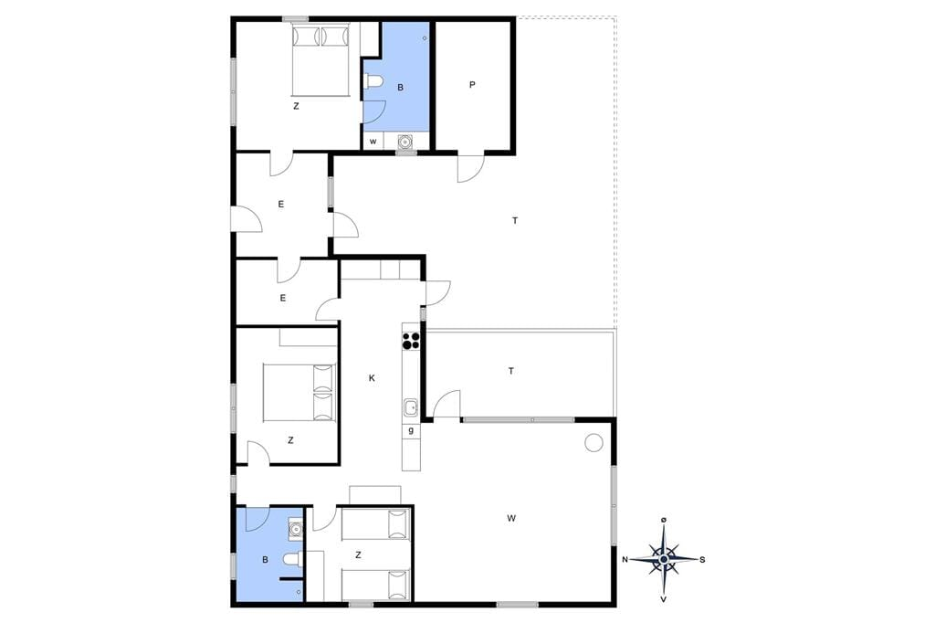 Interior 1-13 Holiday-home 616, Tunvej 8, DK - 7700 Thisted