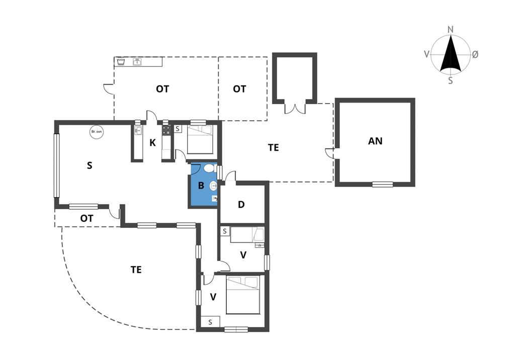 Innenausstattung 1-19 Ferienhaus 30517, Poppelvænget 5, DK - 8300 Odder