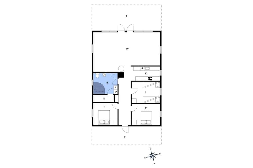 Interior 1-11 Holiday-home 0047, Rævlingevej 1, DK - 6792 Rømø