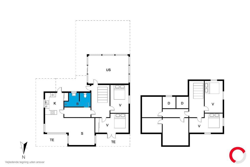 Innenausstattung 1-19 Ferienhaus 30004, Ajstrup Strandvej 134, DK - 8340 Malling
