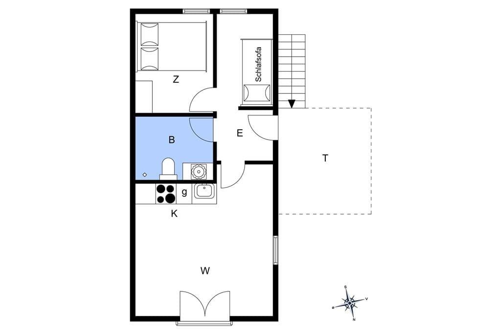 Innenausstattung 1-11 Ferienhaus 0429, Vestergade 225, DK - 6792 Rømø