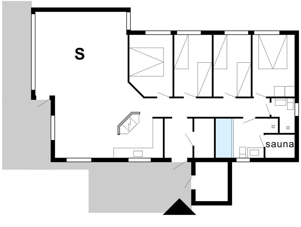 Interieur 1-175 Vakantiehuis 40713, Hagevej 23, DK - 6990 Ulfborg