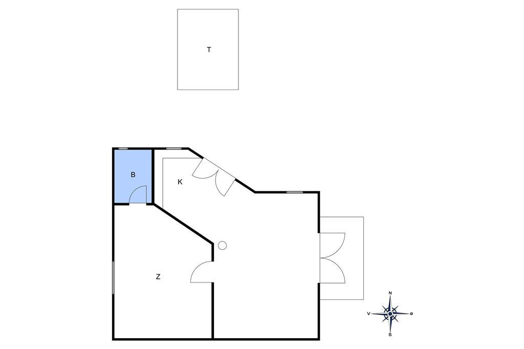 Indretning 1-10 Sommerhus 6600, Storegade 18, DK - 3770 Allinge