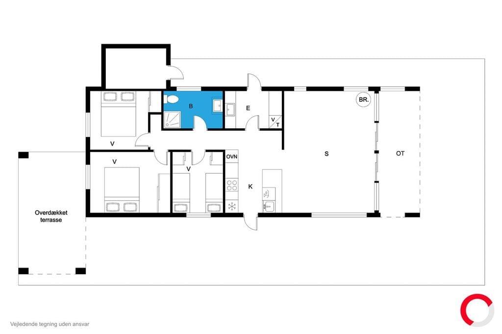 Indretning 1-19 Sommerhus 30303, Nordbyvej 3, DK - 8300 Odder