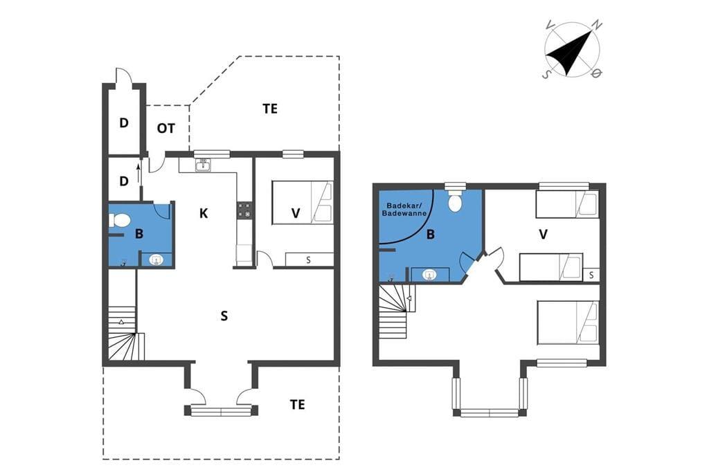 Indretning 1-19 Sommerhus 40128, Strandengen 41, DK - 7130 Juelsminde