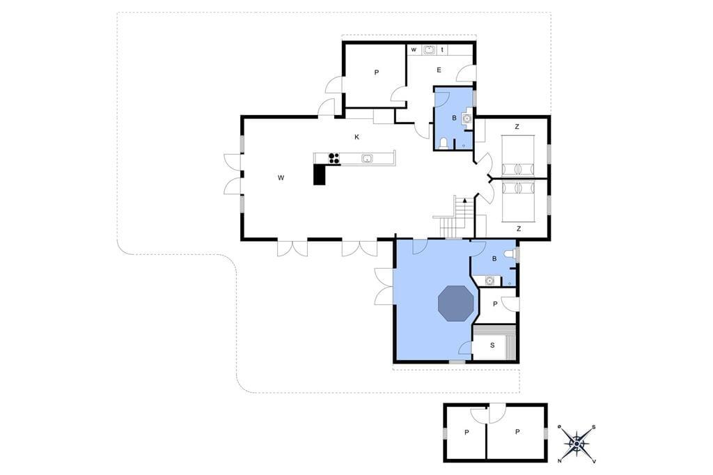 Interior 1-173 Holiday-home BV143, Horns Rev 34, DK - 6857 Blåvand