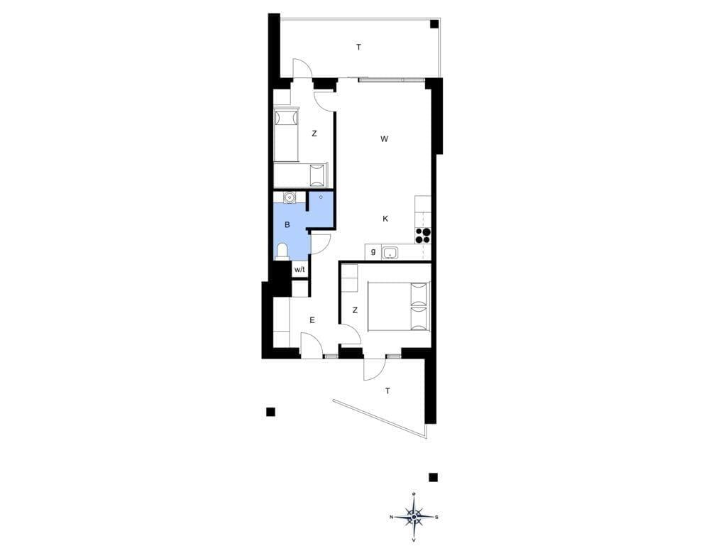 Innenausstattung 18-4 Ferienhaus 833, Mamrelund 6, DK - 6960 Hvide Sande