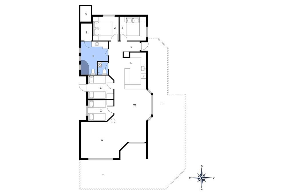 Innenausstattung 1-172 Ferienhaus JB301, Tyttebærstien 3, DK - 9690 Fjerritslev