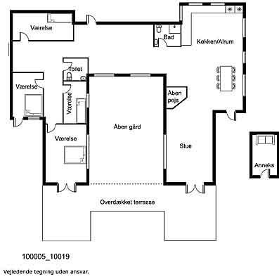 Indretning 1-17 Sommerhus 10019, Holstvænget 5, DK - 4581 Rørvig