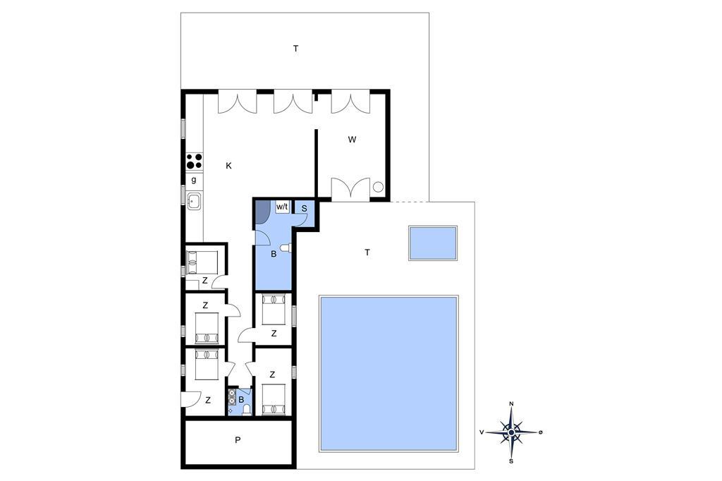 Innenausstattung 1-11 Ferienhaus 0400, Lyngvejen 45, DK - 6792 Rømø