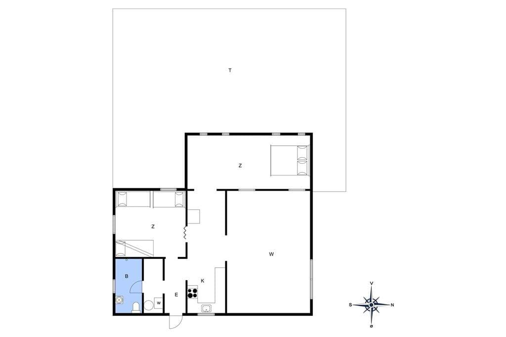 Innenausstattung 1-17 Ferienhaus 11826, Lynglodden 5, DK - 4500 Nykøbing Sj