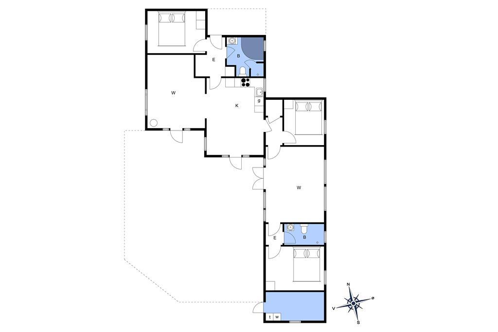 Interieur 1-3 Vakantiehuis L16129, Losvej 5, DK - 9640 Farsø