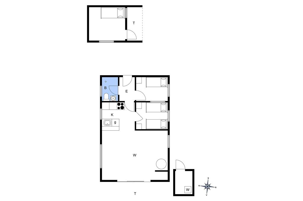 Innenausstattung 1-174 Ferienhaus M17005, Solbrudvej 7, DK - 4873 Væggerløse