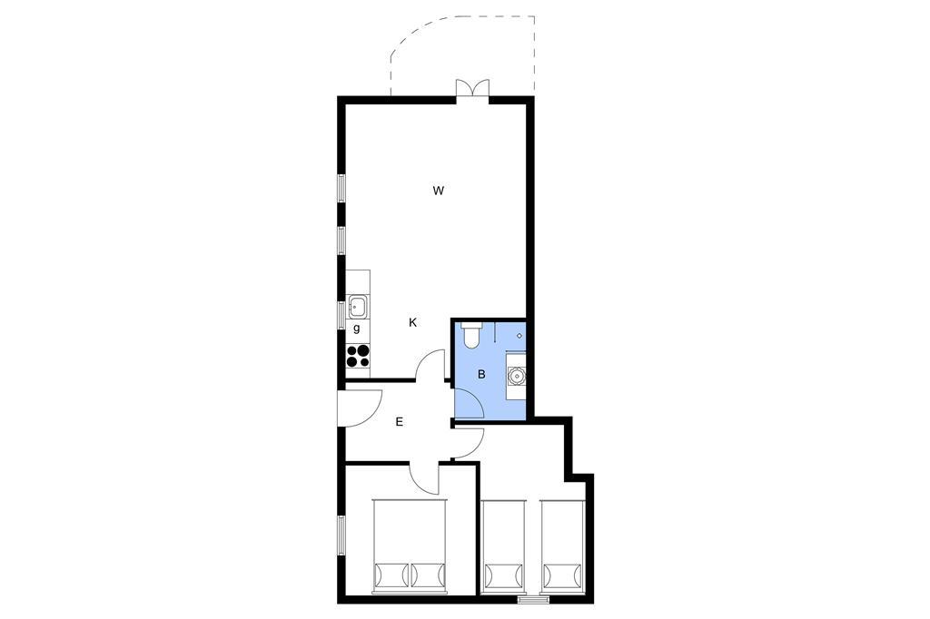 Interieur 1-3 Vakantiehuis M66700, Klintevej 45, DK - 5300 Kerteminde