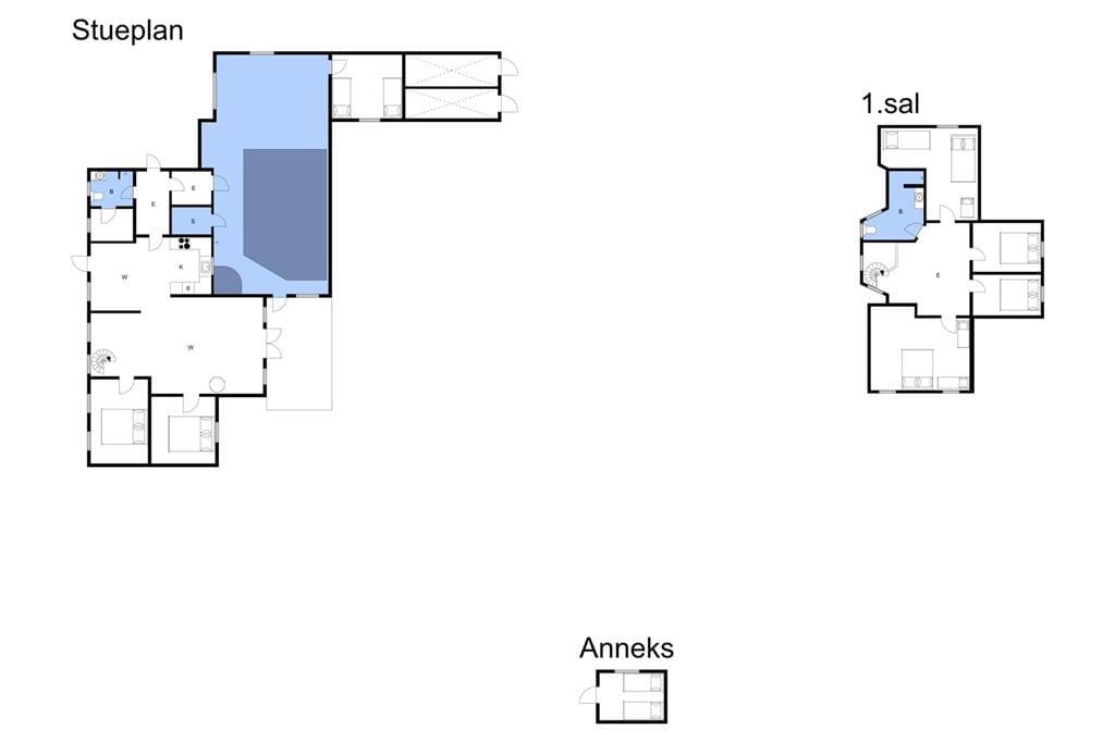 Indretning 1-3 Sommerhus M64538, Tørresøvej 41, DK - 5450 Otterup