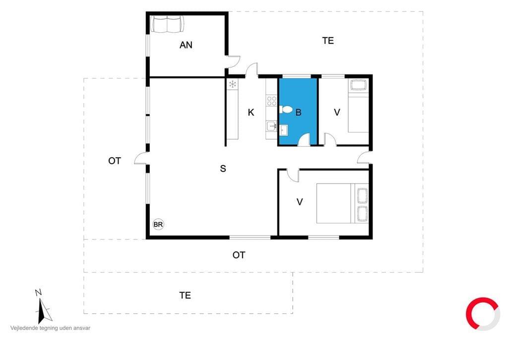 Interieur 1-23 Vakantiehuis 8211, Basbjergvej 5, DK - 8420 Knebel