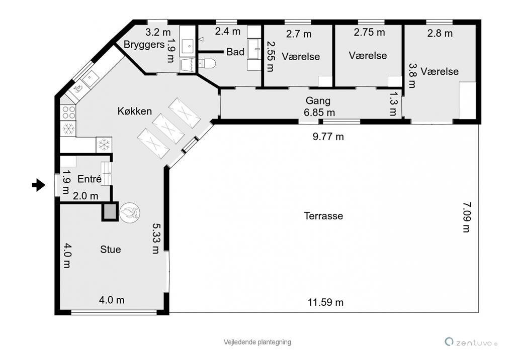Interieur 1-17 Vakantiehuis 11182, Strandhusvej 10, DK - 4500 Nykøbing Sj