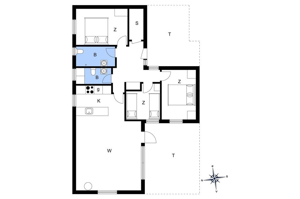 Interior 1-11 Holiday-home 0029, Spurvevej 6, DK - 6792 Rømø