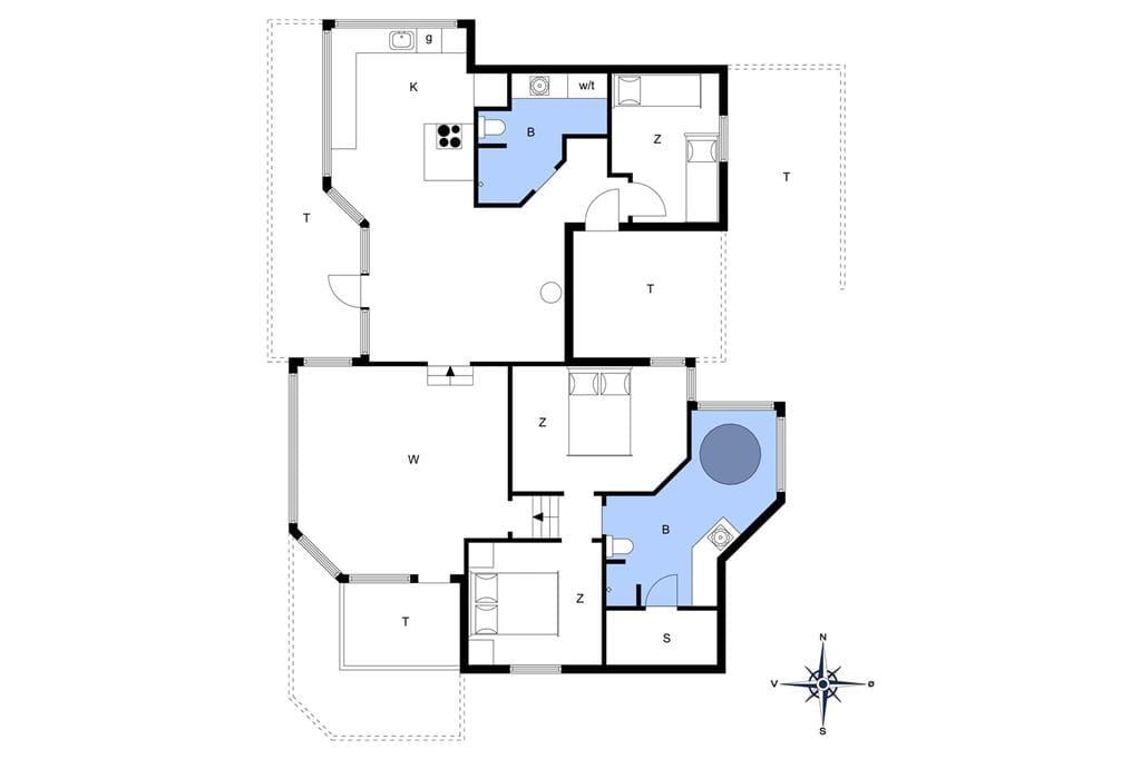 Interior 1-14 Holiday-home 519, Østergårdsvej 60, DK - 9480 Løkken