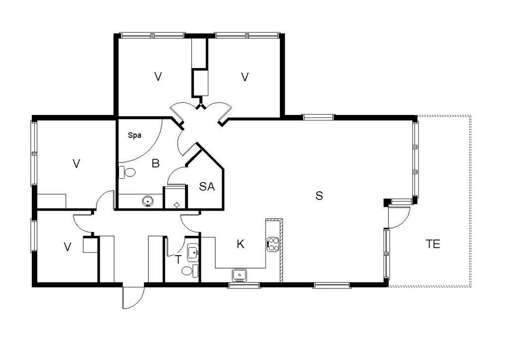 Innredning 1-19 Feirehus 30526, Engagervej 64, DK - 8300 Odder
